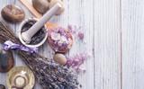 Fototapeta Lavender - Spa