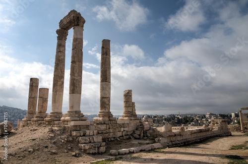 Fotografie, Obraz  Temple of Hercules - Amman, Jordan