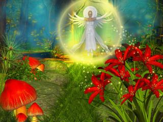 Obraz na płótnie Canvas Angel
