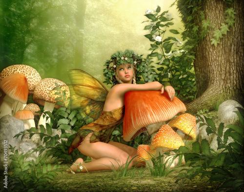 Fotografia  Enchanted Wood, 3d CG