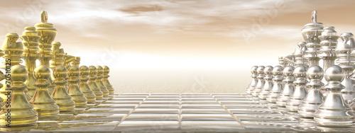 Chessboard - 3D render