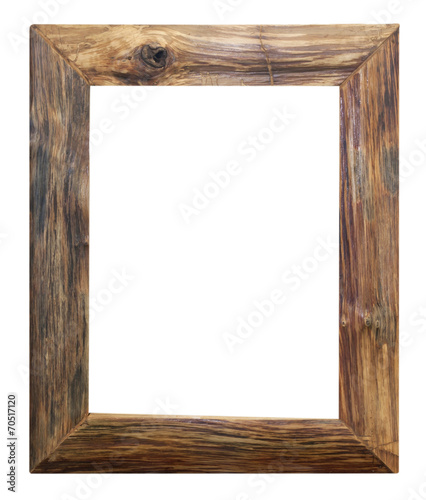 Wooden picture frame Wall mural