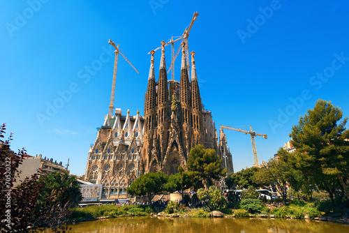 Tuinposter Barcelona Sagrada Familia - Barcelona Spain