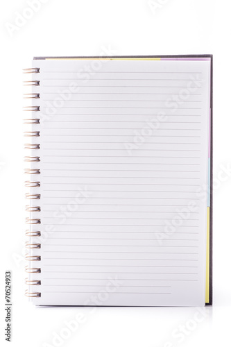 open blank page notebook buy this stock photo and explore similar