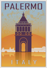 Palermo Vintage Poster