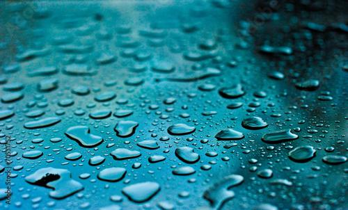 Obrazy turkusowe  un-jour-de-pluie