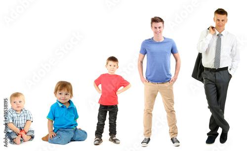 Fotografía  Concept of growing up