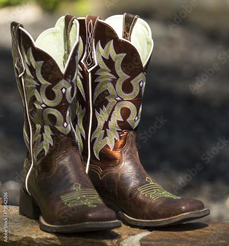 Fotografia, Obraz  Fancy Western Boots