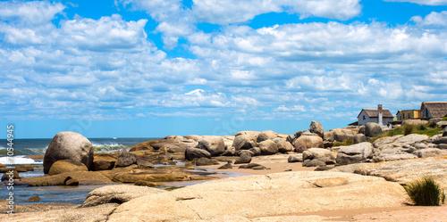 Punta del Diablo Beach, popular tourist place in Uruguay