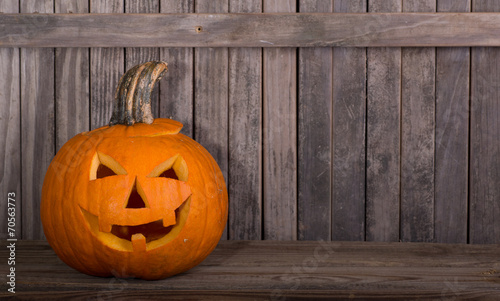 Photo  Carved Pumpkin