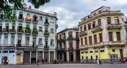 Havana, Cuba. Street scene. Slika na platnu