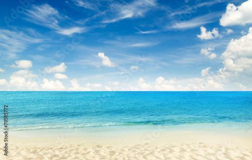 Foto op Canvas Strand tropical beach