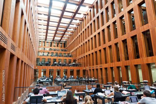 Keuken foto achterwand Berlijn Humboldt University Library in Berlin, Germany