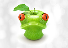 Apple Frog Photo Manipulation ...