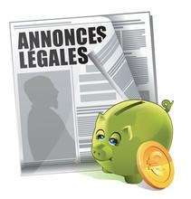 Prix D'une Annonce Légale