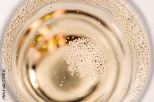 Close-up champagne