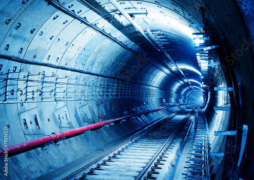 Foto op Plexiglas Tunnel Subway Tunnel