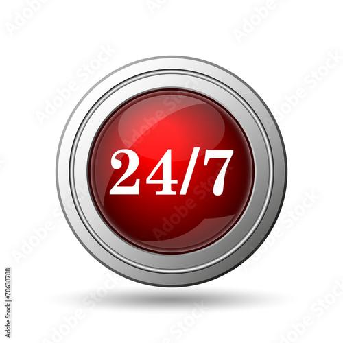 Fotografia  24 7 icon