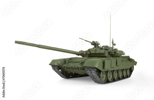 Photo  T-90 Main Battle Tank. Model.
