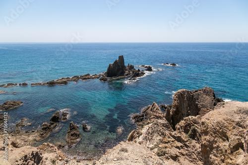 Costa del Cabo de Gata, Almería, España