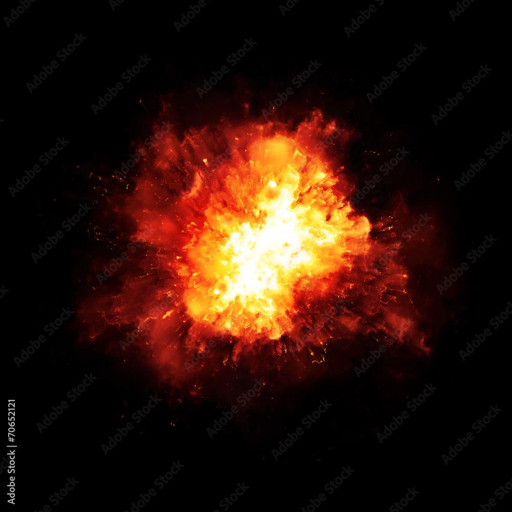 Fototapety, obrazy: explosion fire