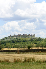 Fototapeta na wymiar Monteriggioni (Tuscany)