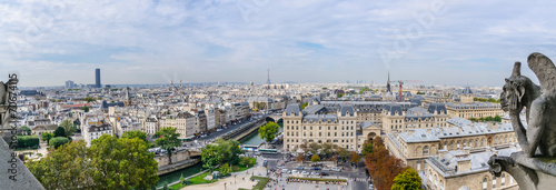 Papiers peints Paris Panoramic of Paris
