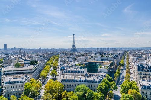 Papiers peints Paris Skyline of Paris
