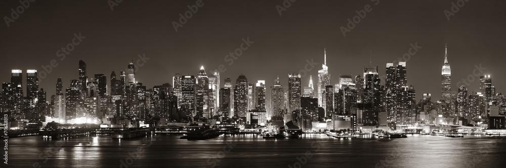 Fototapety, obrazy: Midtown Manhattan skyline