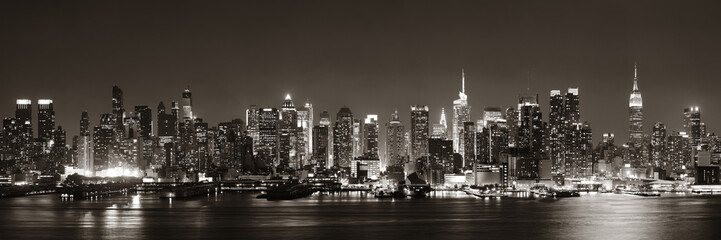 Obraz na SzkleMidtown Manhattan skyline