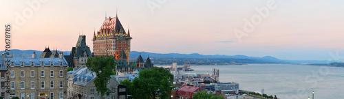 Fototapeta premium Miasto Quebec