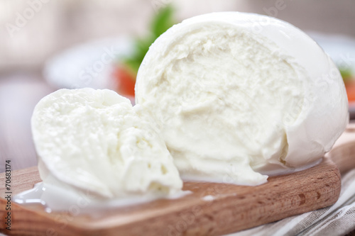 In de dag Buffel Buffalo mozzarella