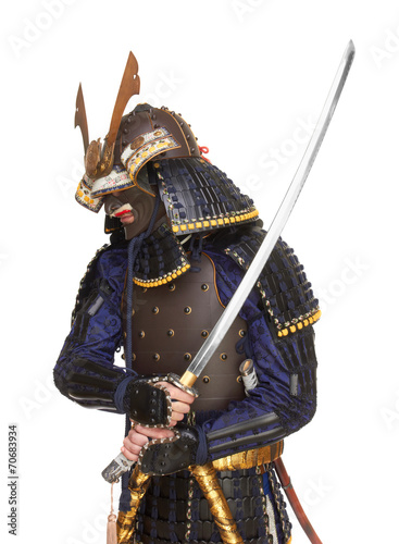 Photo  Samurai in armor