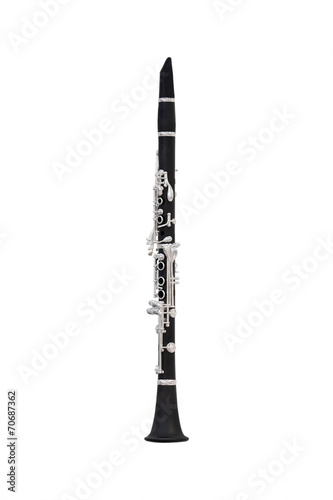 image of a clarinet Wallpaper Mural