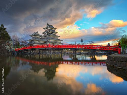 Foto op Plexiglas Japan Matsumoto castle in Matsumoto Nagano, Japan