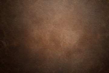 Fototapeta Brown leather texture background