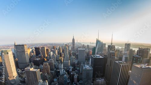 Fototapety, obrazy: Aerial View of Manhattan, New York