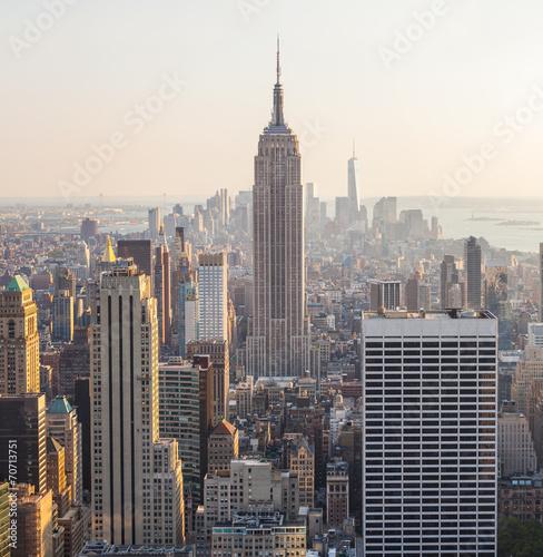 Aerial View of Manhattan, New York - 70713751