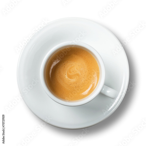 In de dag Koffiebonen Caffè espresso