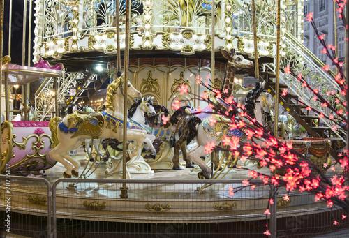 Poster Maroc Christmas Carousel
