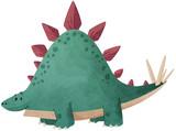 Fototapeta Dinusie - stégosaure