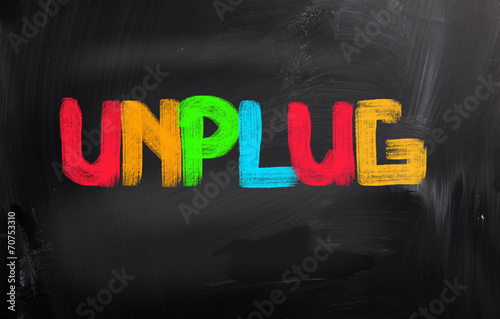 Fotografía  Unplug Concept