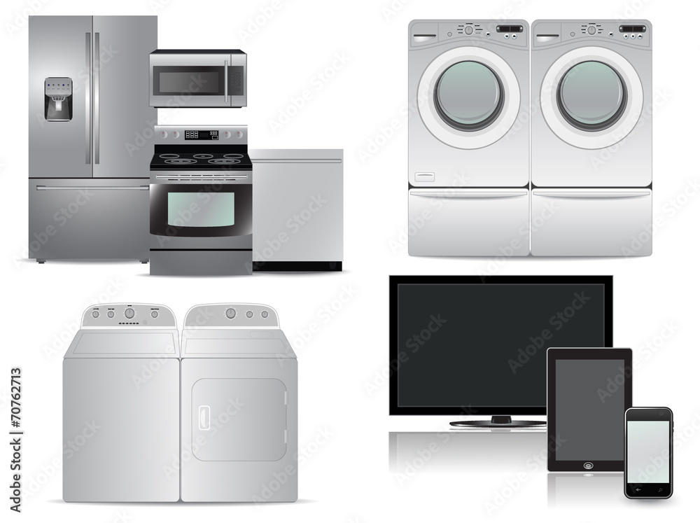 Kitchen Appliance Package | Tv Tablet Phone Washer Dryer Kitchen Appliance Package Foto