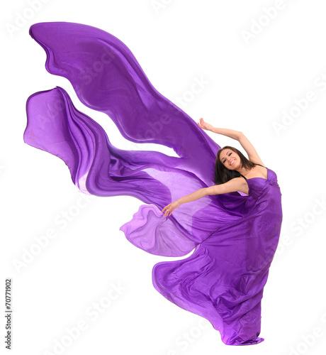 tancerka-kobieta-w-fioletowy-satyna