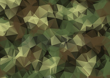 Abstract Vector Military Camou...