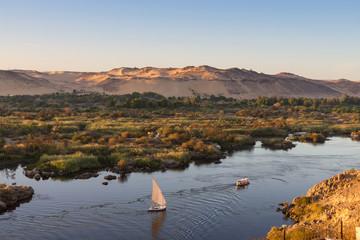 Life on River Nile, Aswan, Egypt