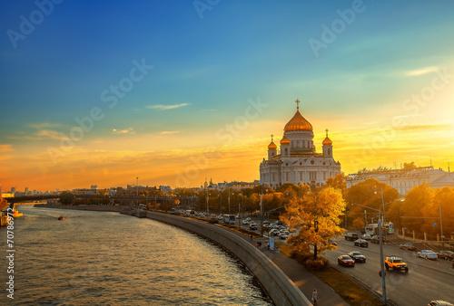 Закат в Москве - 70786972