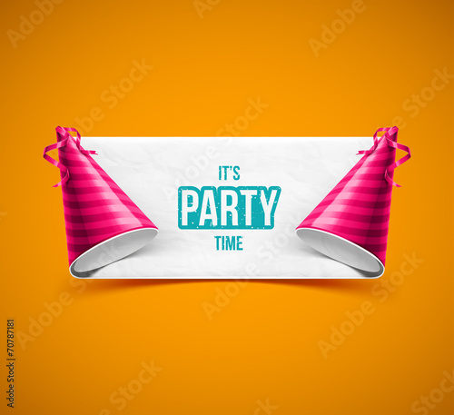 It's Party Time Canvas Print