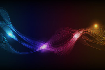 Fototapeta Abstract motion graphic background