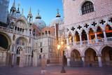 Bazylika Świętego Marka i Pałac Dożów Wenecja, Włochy.